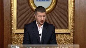 Suffa Mektebi'nde Bir Ders: Mizah (a)