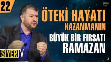 Öteki Hayatı Kazanmanın Büyük Bir Fırsatı Ramazan