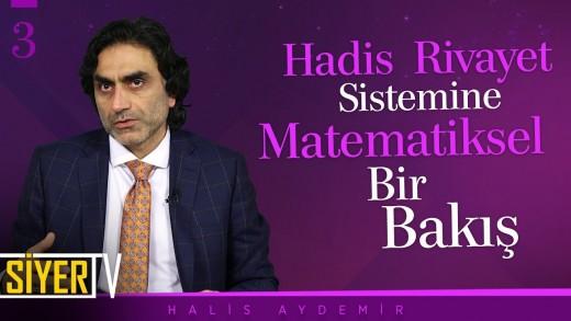 Hadis Rivayet Sistemine Matematiksel Bir Bakış   Prof. Dr. Halis Aydemir