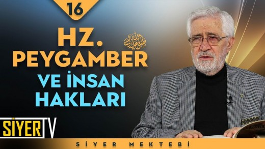Hz. Peygamber (sas) ve İnsan Hakları   Prof. Dr. Servet Armağan