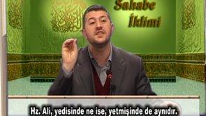 Sahabe'nin Rüyası Şehadet (b)