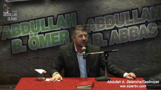 Abdullah b. Selam (r.a) ve Teslimiyet