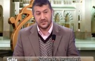 3- Sahabe Hz. Peygamber'i (sas) Nasıl Sevdi ? (a)