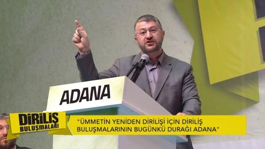 Muhammed Emin Yıldırım Diriliş Buluşmaları Adana Konuşması