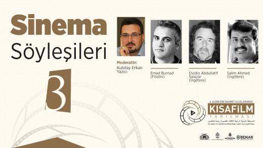 Sinema Söyleşileri: Yavuz Selim Kurt, Ovidio Abdüllatif Salazar, Emad Burnat, Salim Ahmed, Rabia Christine Brodbeck