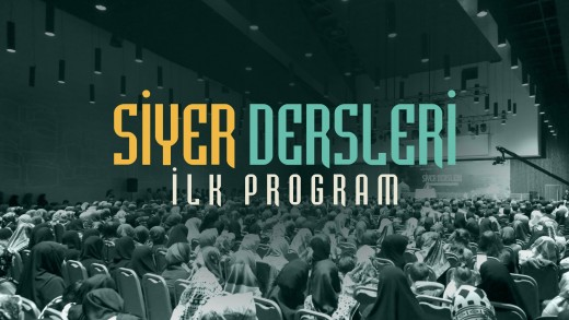 Siyer Dersleri İlk Program